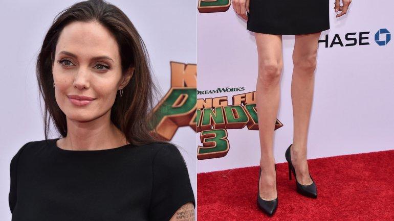 Angelina Jolie participó de la avant premiere deKung Fu Panda 3