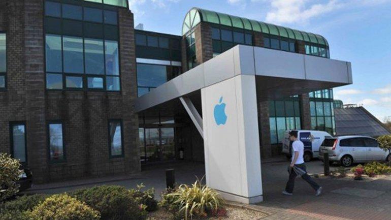 Las oficinas de Apple en la ciudad irlandesa de Cork, ubicada en el sur del país