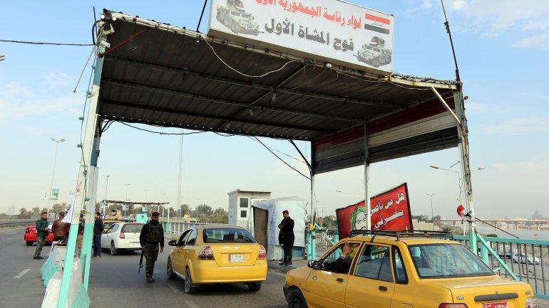 Las fuerzas iraquíes buscan a tres contratistas norteamericanos secuestrados
