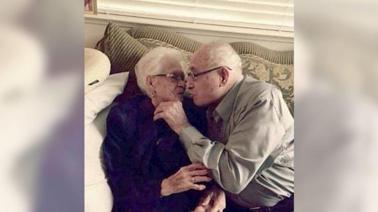 Nicholas y Rafaela Ordaz festejaron 82 años de amor