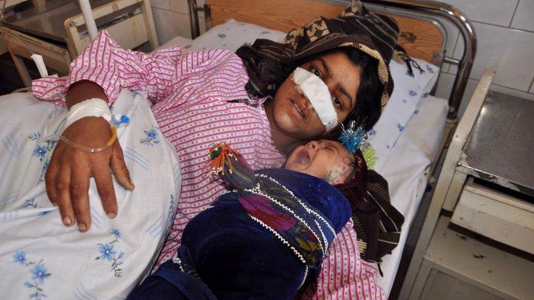Reza Gul fue hospitalizada, pero intentan trasladarla a Turquía para brindarle un mejor tratamiento