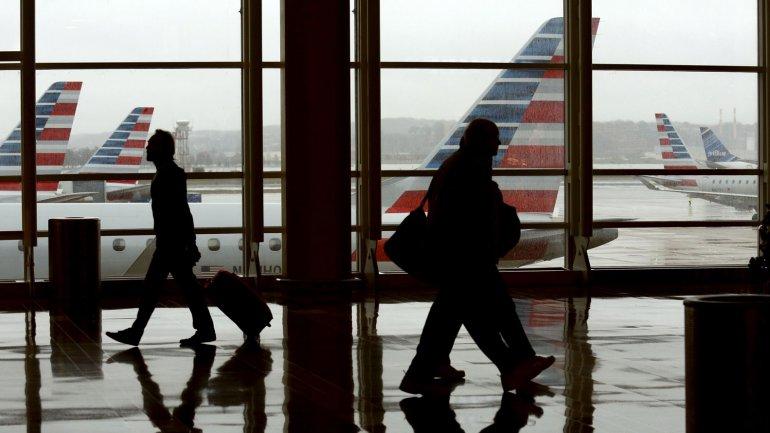 El aeropuerto Regan en Washington