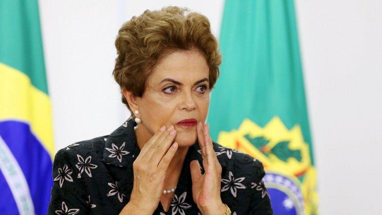Dilma Rousseff está atravesando un proceso de impeachmenten el Congreso brasileño que podría acabar en su destitución