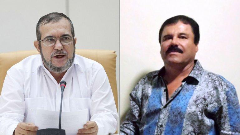 Timochenko y El Chapo Guzmán