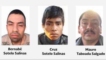 Los tres nuevos detenidos por la desaparición de los 43 estudiantes mexicanos