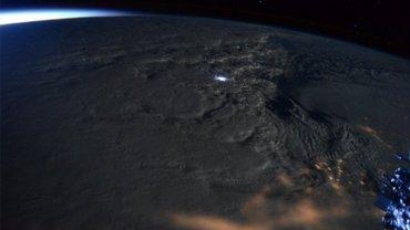 La supernevada Jonas, vista desde la Estación Espacial Internacional (EEI)