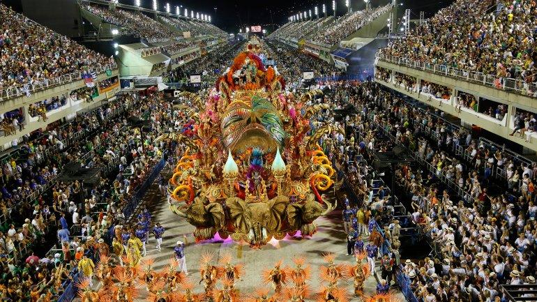 El famoso Carnaval de Río de Janeiro no se adhirió a la medida de austeridad