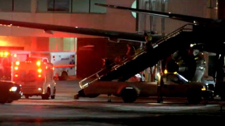 El vuelo 206 de American Airlines, que tenía a bordo 192 pasajeros y 11 tripulantes, debió aterrizar en Canadá