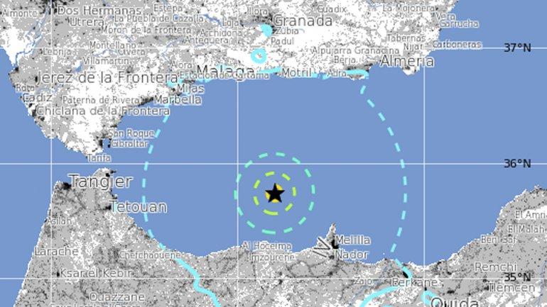 El sismo de 6,1 grados Richter tuvo epicentro en el mar Mediterráneo