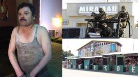 El hotel Miramar, donde fue recapturado El Chapo por primera vez, y el santuario de Jesús Malverde