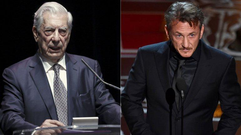 Mario Vargas Llosa criticó duramente a Sean Penn por su entrevista con El Chapo Guzmán