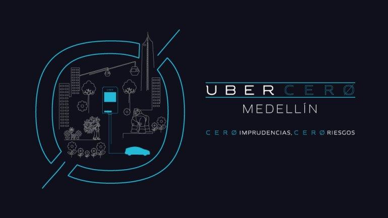 Uber Cero para viajes más seguros