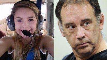 La víctima, Jenny Gamez, y su asesino,Steven Zelich
