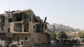 Denunciaron violaciones a los derechos humanos por ataques aéreos contra civiles
