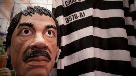 Un disfraz de El Chapo Guzmán