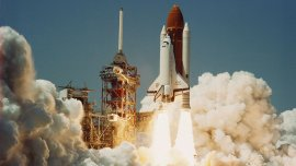 El transbordador Challenger