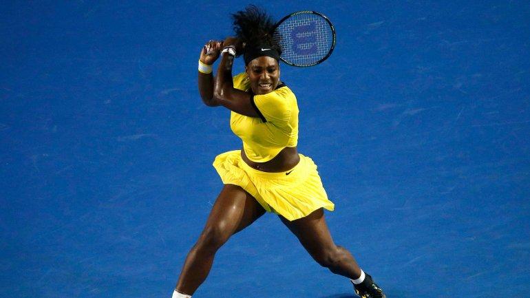 Serena Williams, finalista del Abierto de Australia