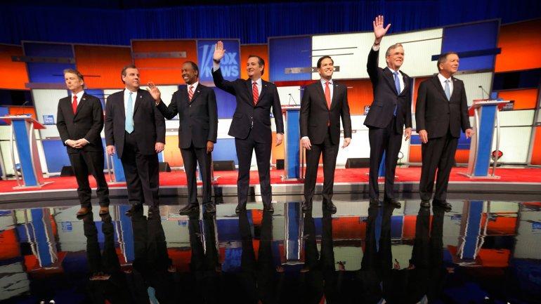 Los siete aspirantes a la Casa Blanca en Des Moines