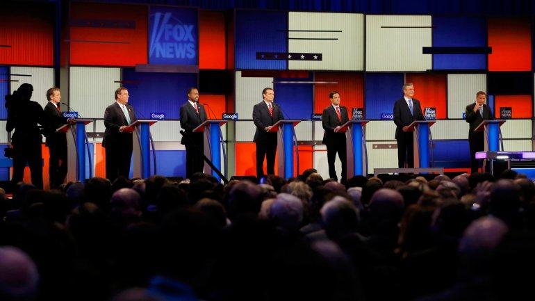 El debate republicano en Iowa