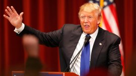Donald Trump boicoteó el debate republicano y organizó un evento paralelo