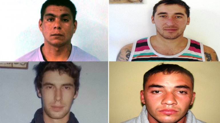 Cuatro presos se fugaron de Santa Rosa