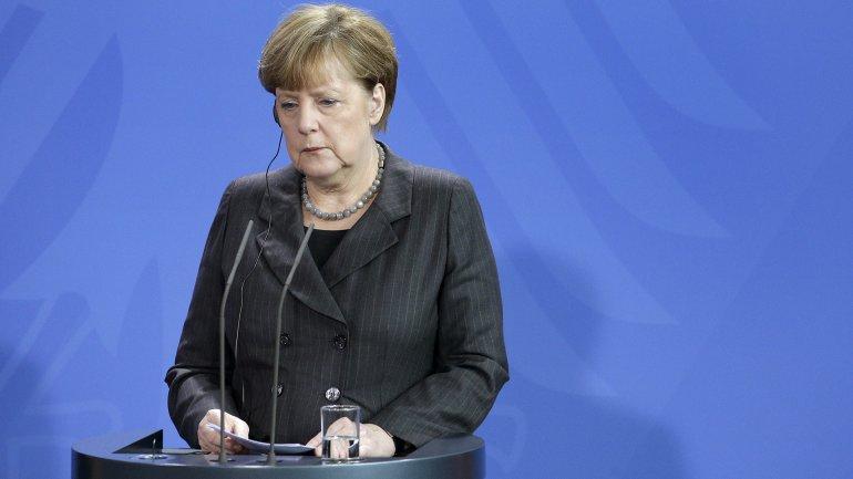 La canciller alemana Angela Merkel