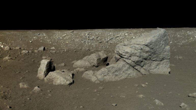 China publicó imágenes HD y a color de su misión en la Luna