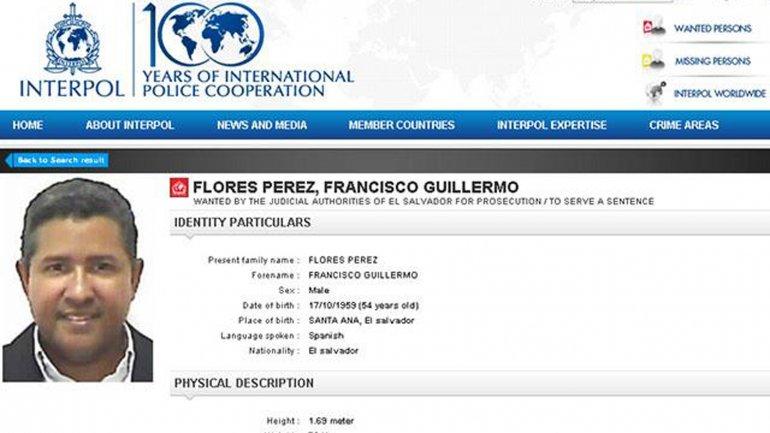 Interpol lanzó un alerta roja para dar con el ex mandatario
