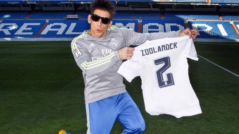 Ben Stiller estuvo en el Santiago Bernabéu