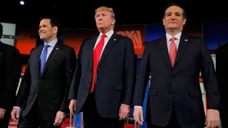 Hay un virtual empate técnico entre los tres candidatos republicanos