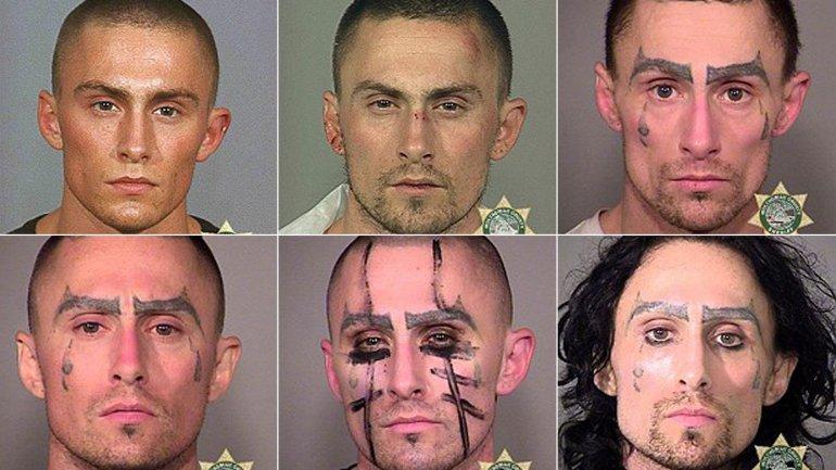 De 2002 a 2016, el impactante deterioro físico del criminal
