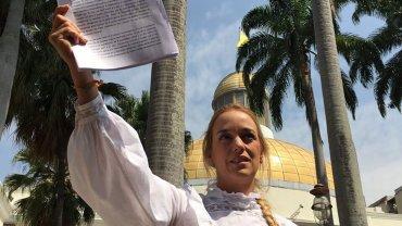 Lilian Tintori se mostró esperanzada con la aprobación de una ley de amnistía