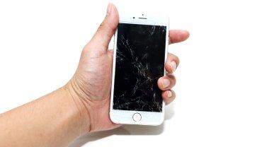 Una pantalla estrellado, el problema más común para los usuarios de Apple