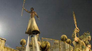 La fiesta del carnaval de Río de Janeiro
