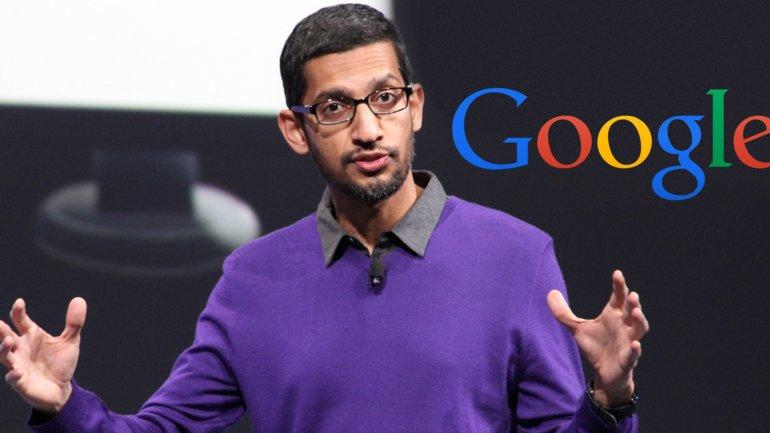 Sundar Pichai, el presidente ejecutivo de Google