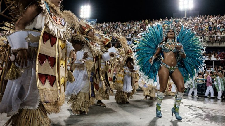 Mangueira ganó su título 18 en el carnaval de Río de Janeiro