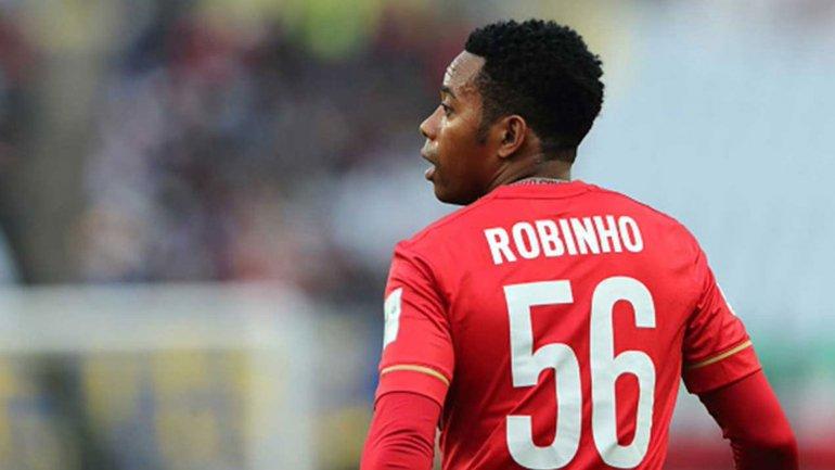 Robinho nunca pudo conseguir la Copa Libertadores
