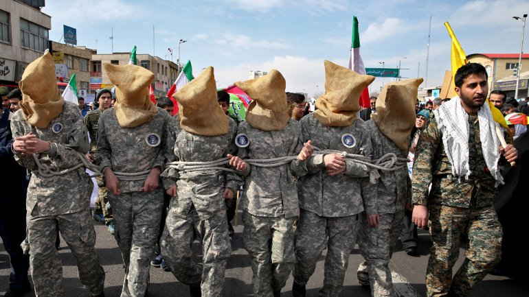 La parodia fue vista por miles de personas en las calles de Teherán