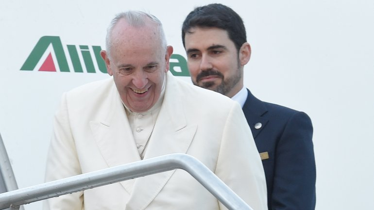 El papa Francisco rumbo a México