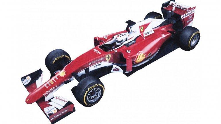 Así sería el nuevo coche de Ferrari para el Mundial de Fórmula 1 2016