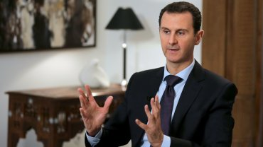 El dictador sirio Bashar al Assad