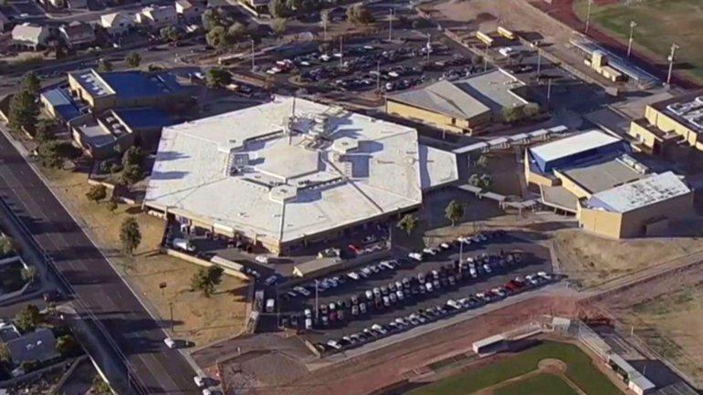 La Independence High School de Glendale fue evacuada tras la alerta de un tiroteo