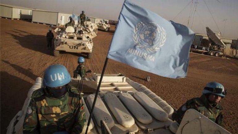 Al menos seis cascos azules murieron en uno de los ataques terroristas del viernes