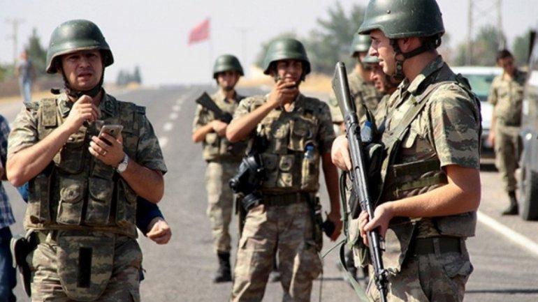 Las tropas turcas, listas para combatir al ISIS