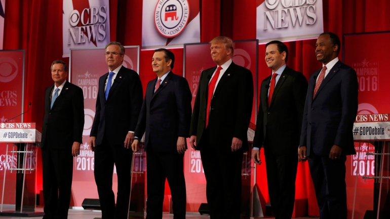 Los seis precandidatos republicanos en Carolina del Sur