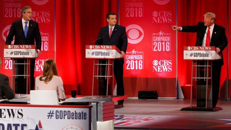 Jeb Bush y Donald Trump elevaron fuertemente el tono del debate