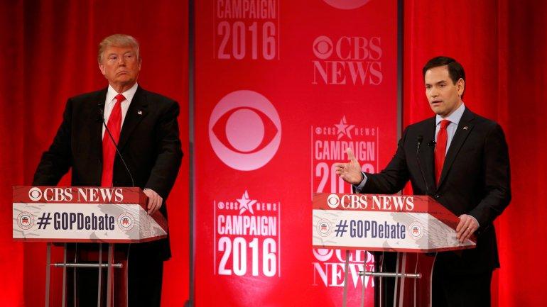 Donald Trump y Marco Rubio