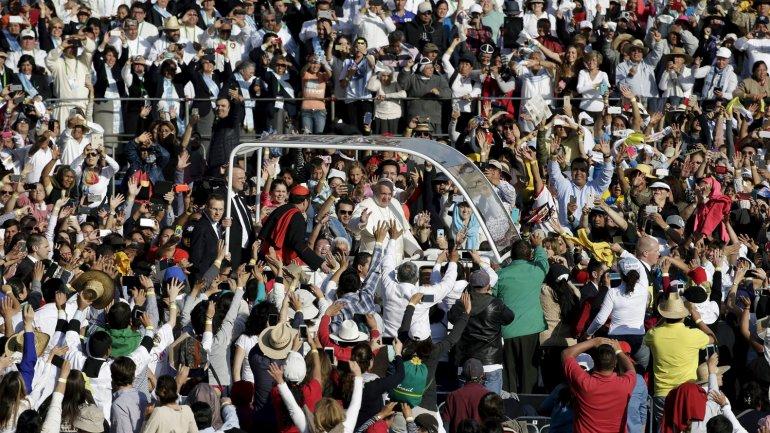 Se espera que en la misa en el municipio de Ecatepec se congreguen unas 300.000 personas