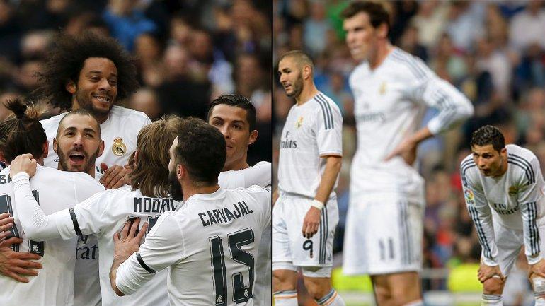 Real Madrid es el equipo más goleador del torneo, pero es el más goleado de los 4 mejores de la liga