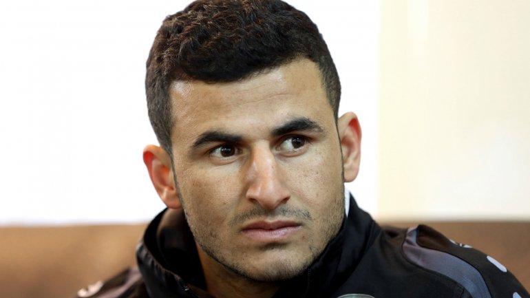 Ayman Hussein anotó elgol ganadorcontra Qatar en enero, uniendo a los iraquíes en un inusual momento de victoria y convirtiéndose encelebridad nacional